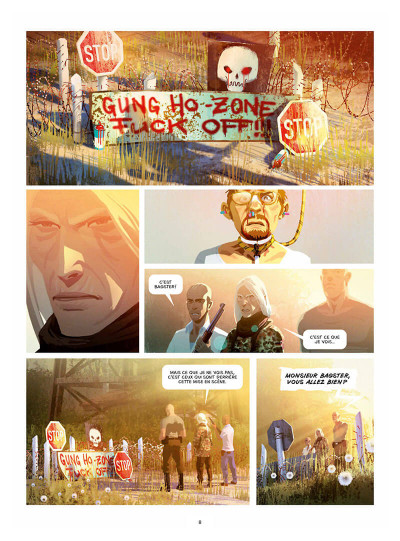 Page 8 Gung ho tome 5