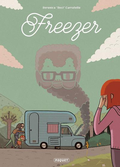 Couverture Freezer + ex-libris offert