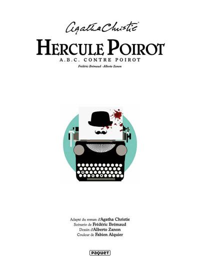 Page 1 Hercule Poirot - A.B.C. contre Poirot