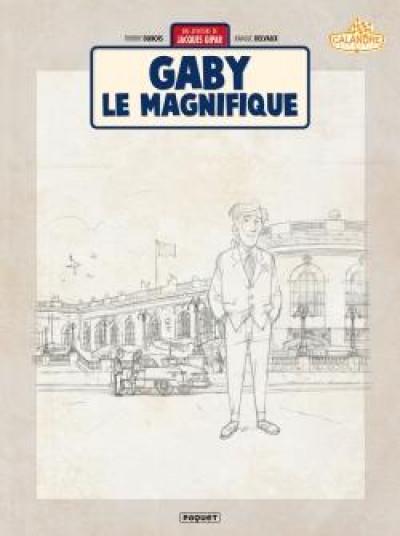 Couverture Une aventure de Jacques Gipar tome 7 (crayonnés)