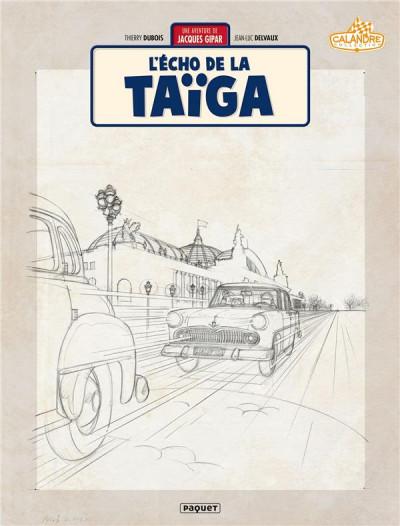 Couverture Une aventure de Jacques Gipar tome 8 (crayonnés)