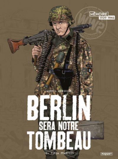 Couverture Berlin sera notre tombeau tome 2