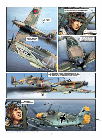 Page 7 Les ailes de l'espérance tome 2