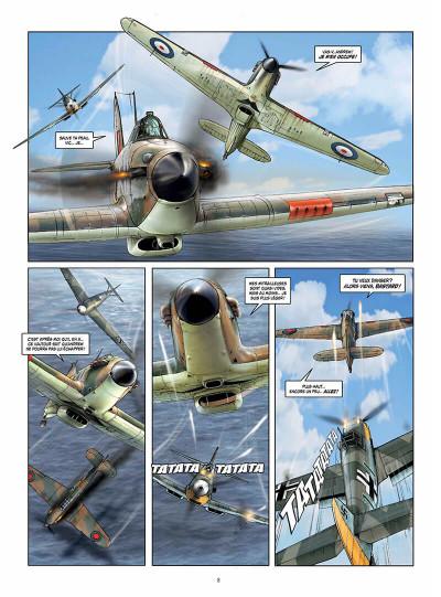 Page 8 Les ailes de l'espérance tome 2