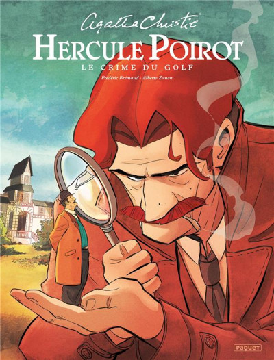 Couverture Hercule Poirot - Le crime du golf