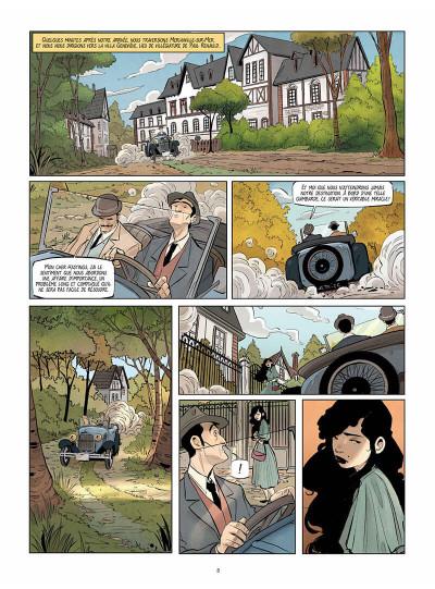 Page 8 Hercule Poirot - Le crime du golf
