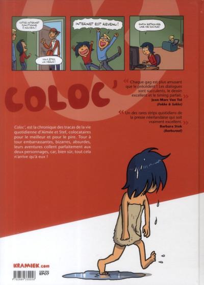 Dos Coloc' tome 1 - Au fil des mauvais jours
