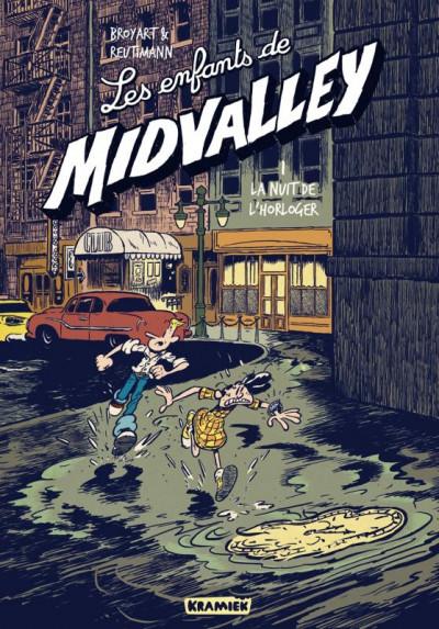 Couverture Les enfants de Midvalley tome 1