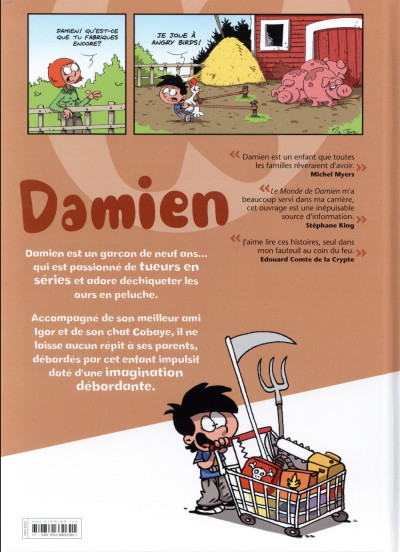 Dos Le monde de Damien tome 1