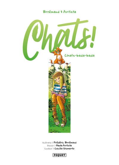 Page 1 Chats ! tome 2 - Chats bada-bada