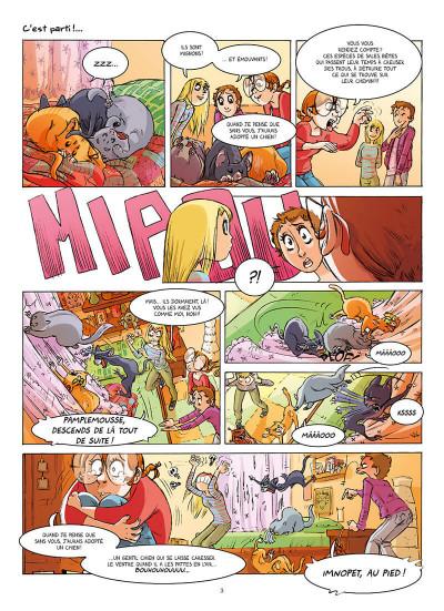 Page 3 Chats ! tome 2 - Chats bada-bada
