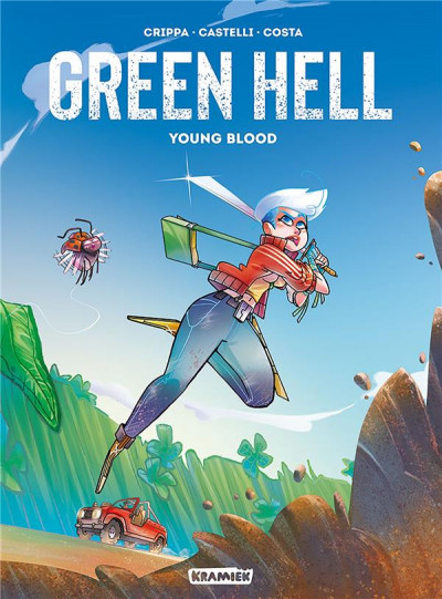 Couverture Green hell tome 1