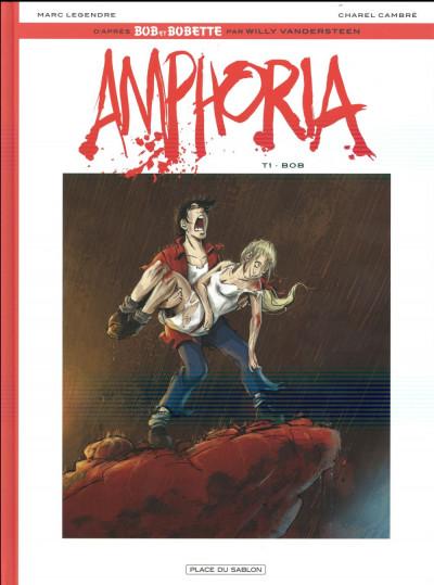 Couverture Bob et Bobette - Amphoria tome 1