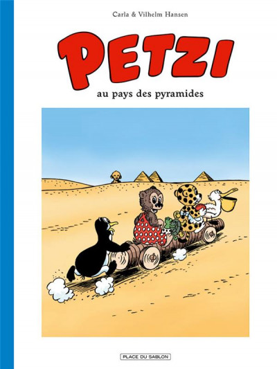 Couverture Petzi tome 4