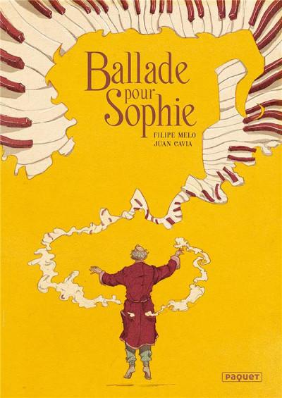 Couverture Ballade pour Sophie + ex-libris offert