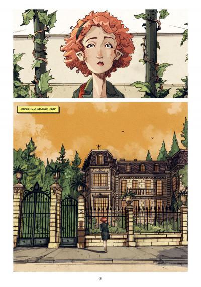 Page 1 Ballade pour Sophie + ex-libris offert