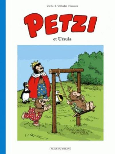 Couverture Petzi tome 2