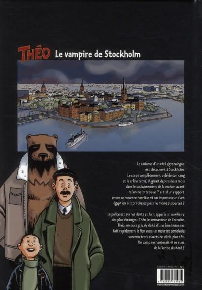 Dos Théo, le sang de la momie tome 1 - le vampire de Stockholm