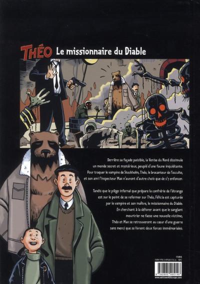 Dos Théo, le sang de la momie tome 3 - le missionnaire du diable