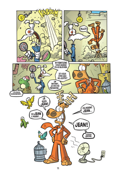 Page 6 L'agent Jean tome 1