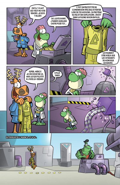 Page 1 L'agent Jean tome 2