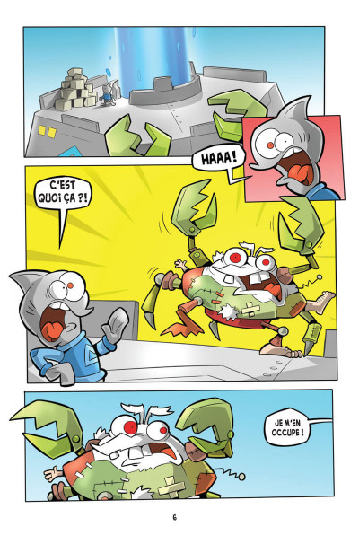 Page 2 L'agent Jean tome 3