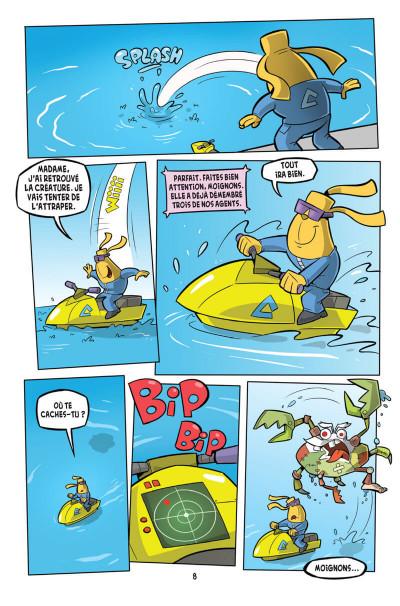 Page 4 L'agent Jean tome 3