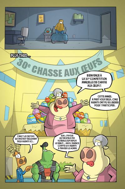 Page 6 L'agent Jean tome 3