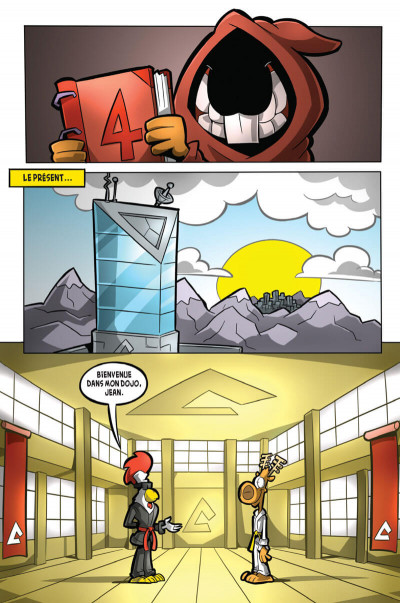 Page 3 L'agent Jean tome 4