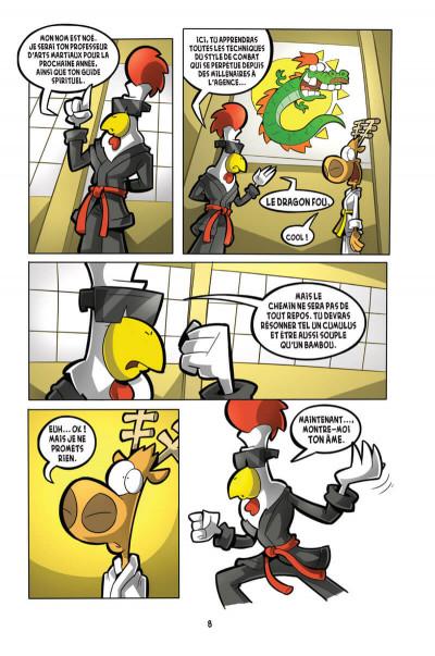 Page 4 L'agent Jean tome 4