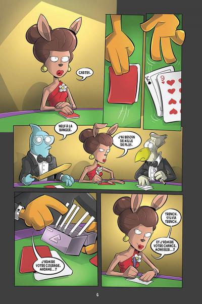 Page 2 L'agent Jean tome 8 - Le castor à jamais