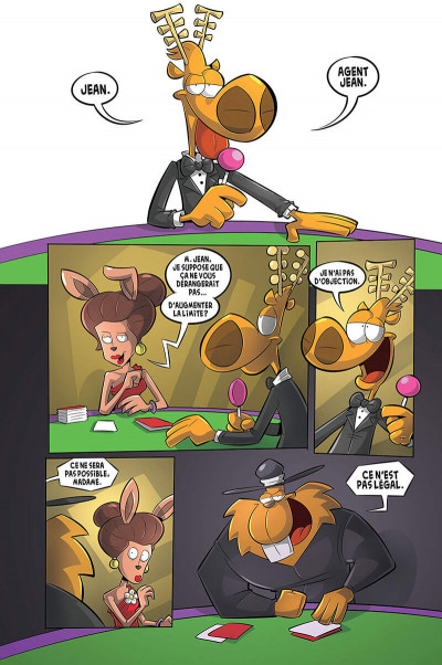 Page 3 L'agent Jean tome 8 - Le castor à jamais