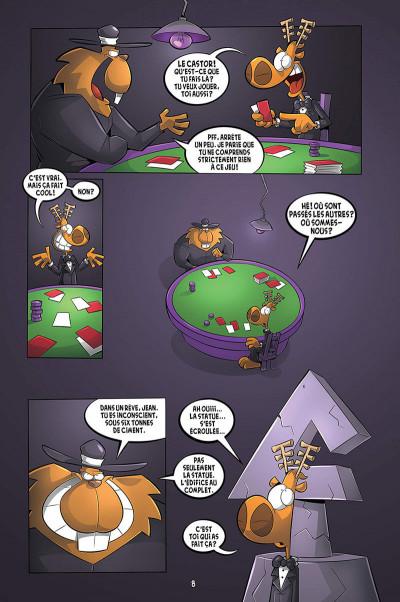 Page 4 L'agent Jean tome 8 - Le castor à jamais