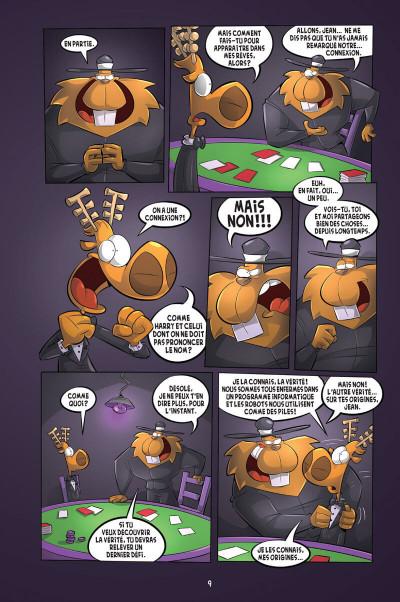 Page 5 L'agent Jean tome 8 - Le castor à jamais