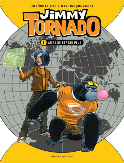Couverture Jimmy tornado tome 1
