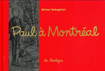 Couverture Paul à Montréal