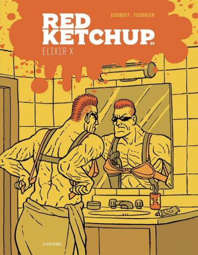 Couverture Red Ketchup T.9 - élixir X