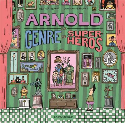 Couverture Arnold, le genre de super-héros