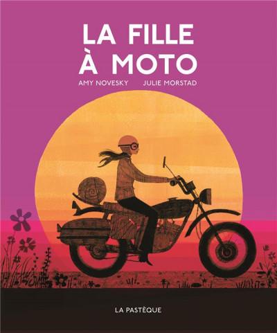 Couverture La fille à moto