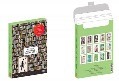 Couverture 15 cartes postales pour fêter les livres