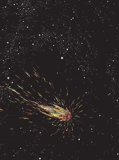 Page 6 L'année de la comète