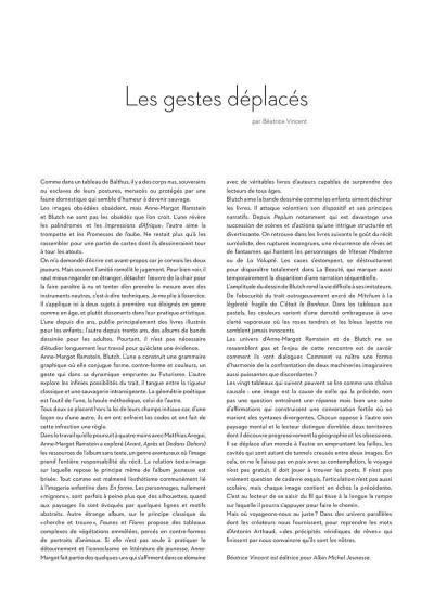 Page 2 Reprise - Dialogue de dessins