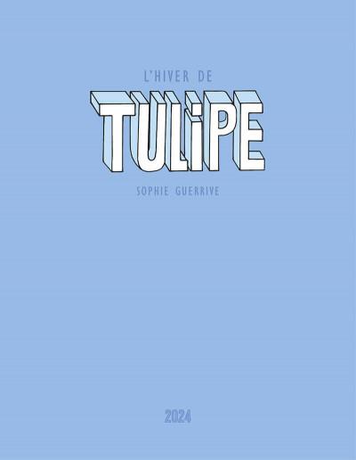 Page 2 L'hiver de Tulipe