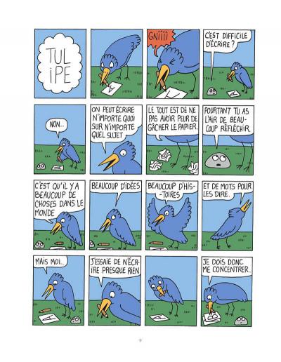 Page 8 L'hiver de Tulipe