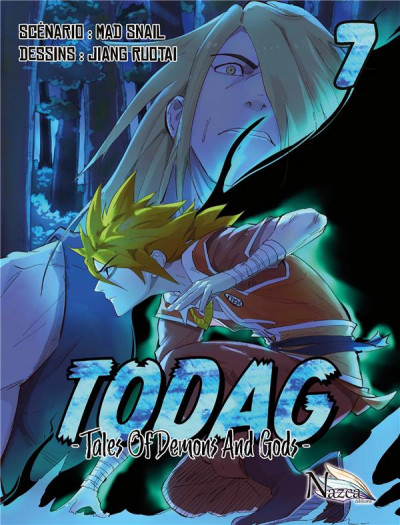 Couverture TODAG - Tales of demons and gods tome 7