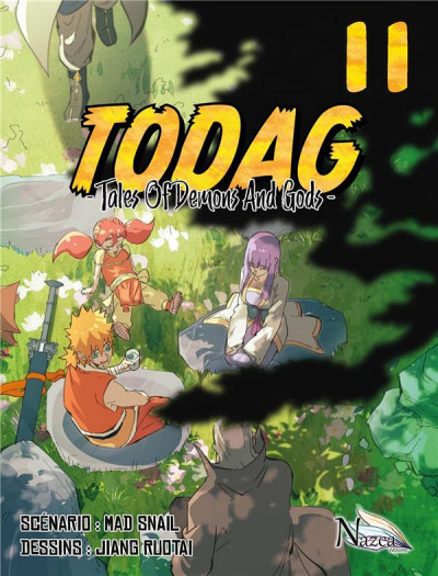 Couverture TODAG - tales of demons and gods tome 11