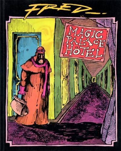 Couverture Magic palace hotel (ed. 1980)