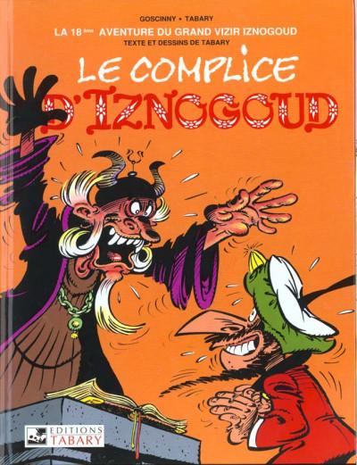 Couverture iznogoud tome 18 - le complice d'iznogoud