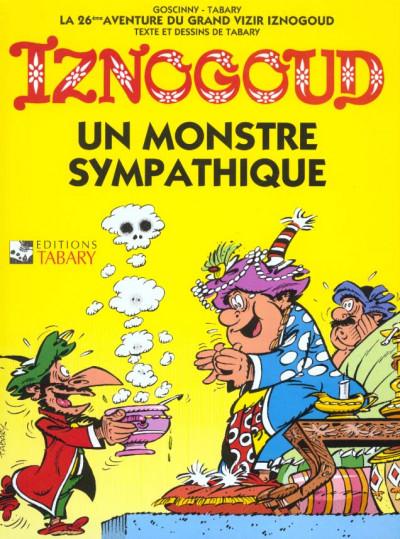 Couverture iznogoud tome 26 - un monstre sympathique