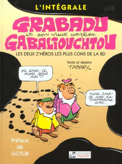 Couverture Grabadu et Gabaliouchtou - intégrale